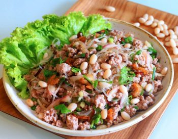 Thai Glass Noodle Salad with U.S. Navy Beans