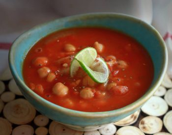 Soothing Garlic U.S. Chickpea Soup