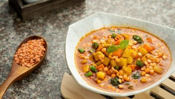 chicken curry with u.s. red lentils