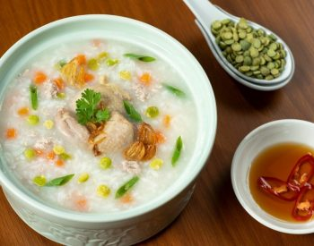 U.S. Green Split Peas Porridge with Dove or Quail