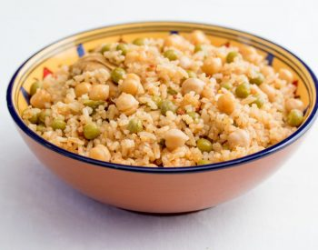 Rice with Chicken, U.S. Green Peas and U.S. Chickpeas