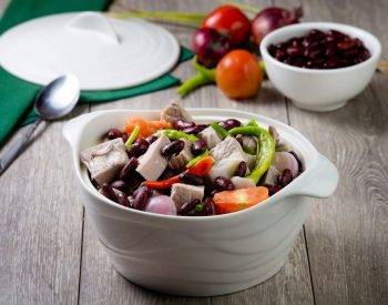 Sinigang na Baboy at Langka with </br>U.S. Red Kidney Beans