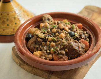 Tagine of Chicken, U.S. Lentils and U.S. Chickpeas